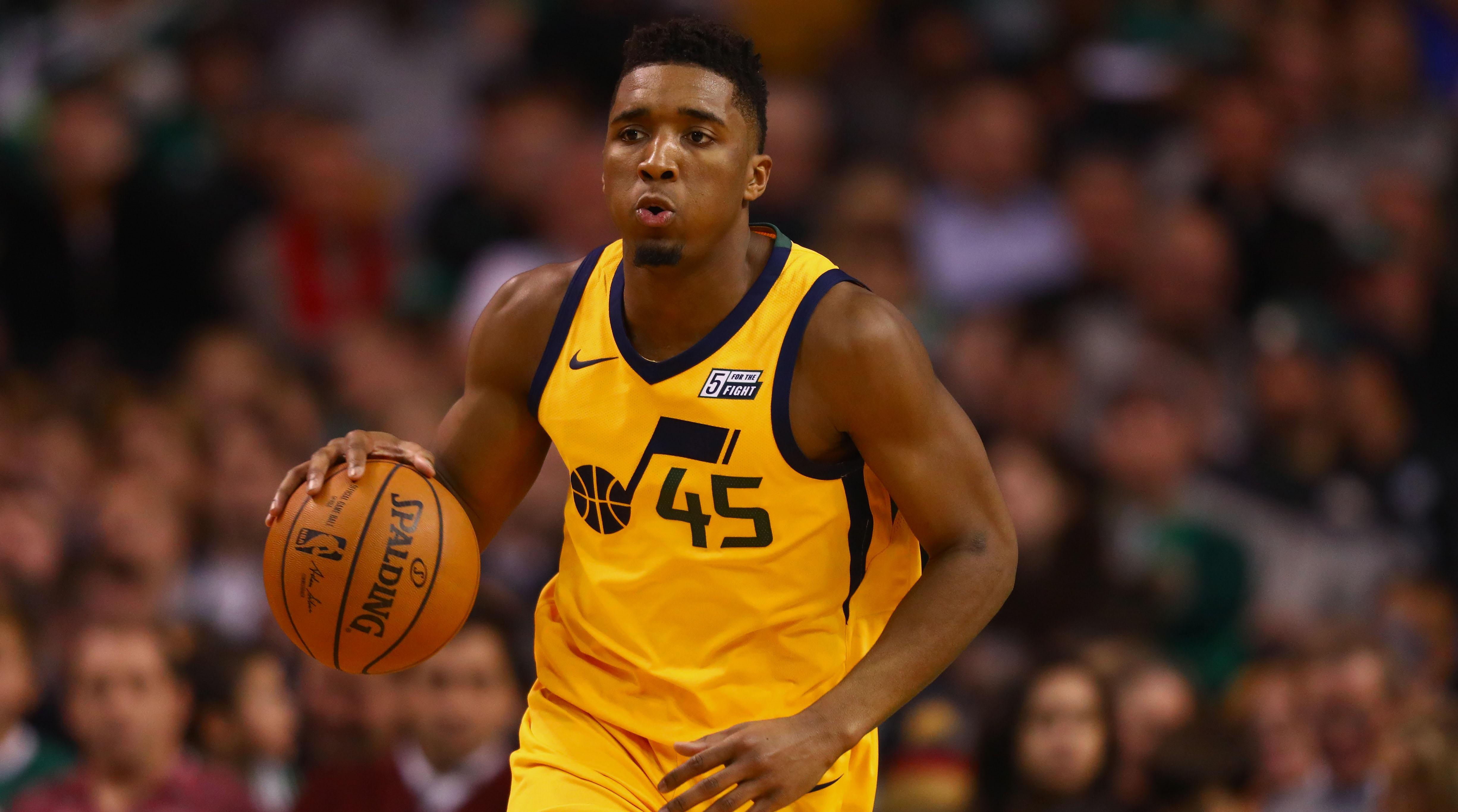 Donovan Mitchell Stats Nba >> Donovan Mitchell Is the Lifeblood of the Utah Jazz Offense | 15 Min...