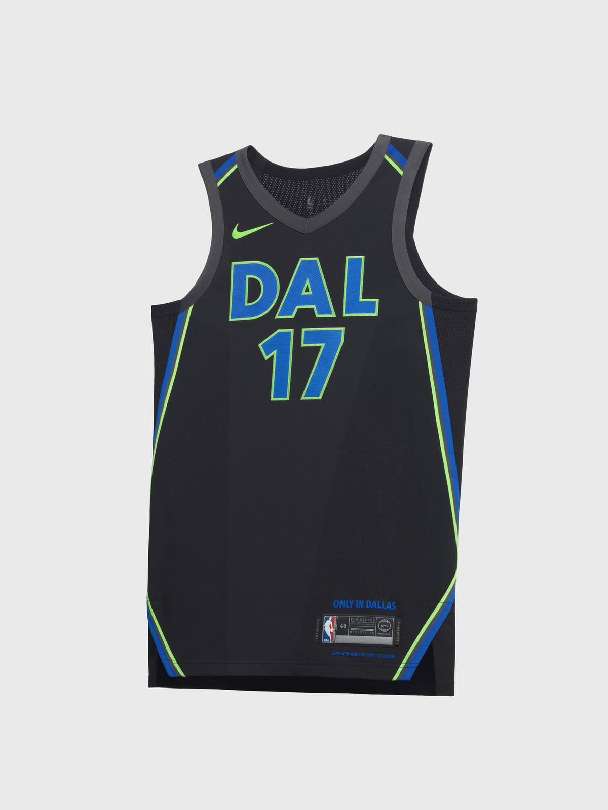 Dallas Mavericks City Edition jersey