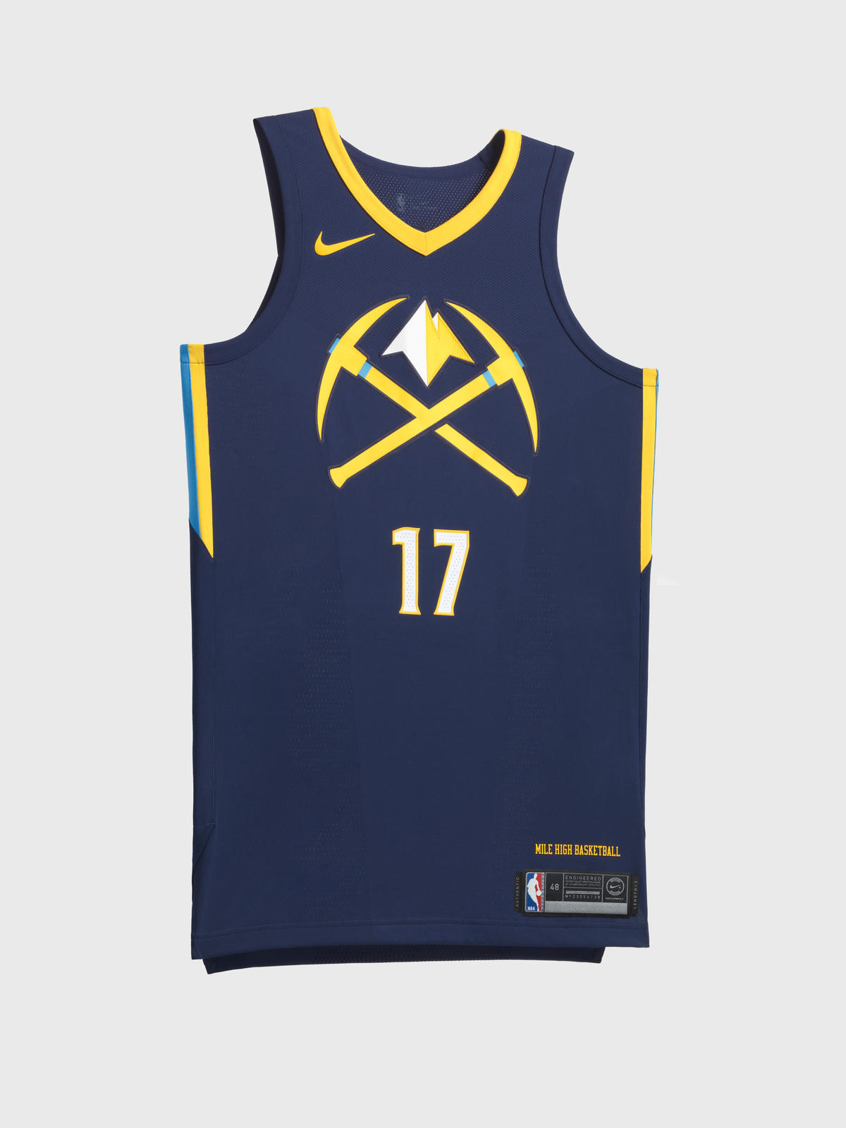 Denver Nuggets City Edition jersey