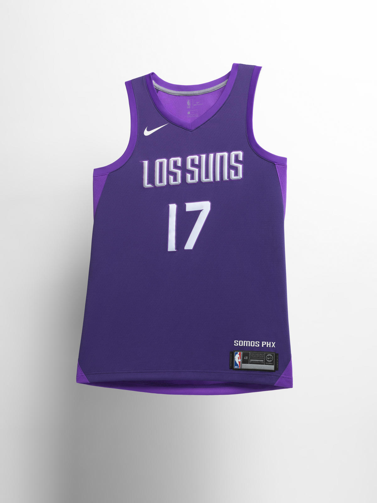 Phoenix Suns City Edition jersey