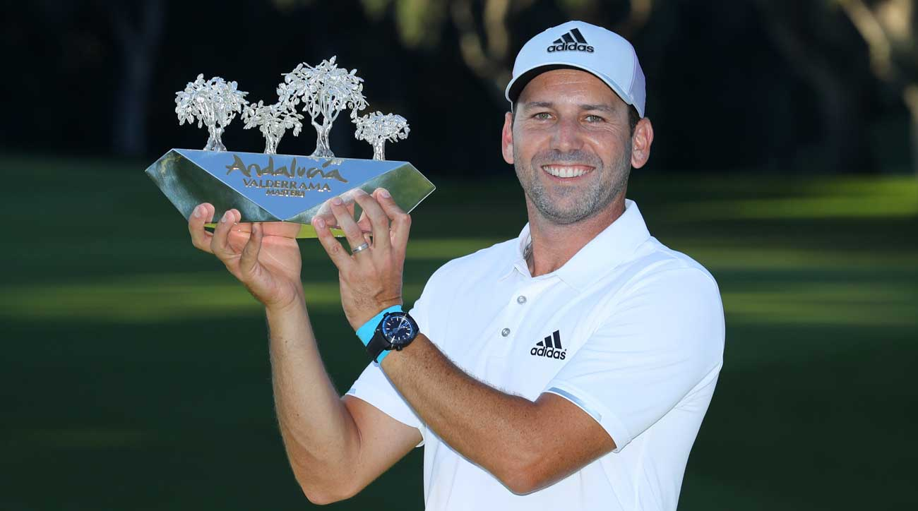 Sergio Garcia has been with Adidas since turning pro in 1999.