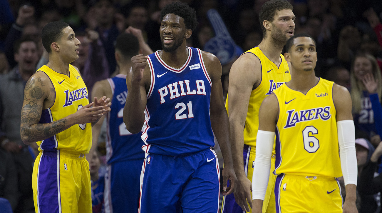 76ers and Lakers