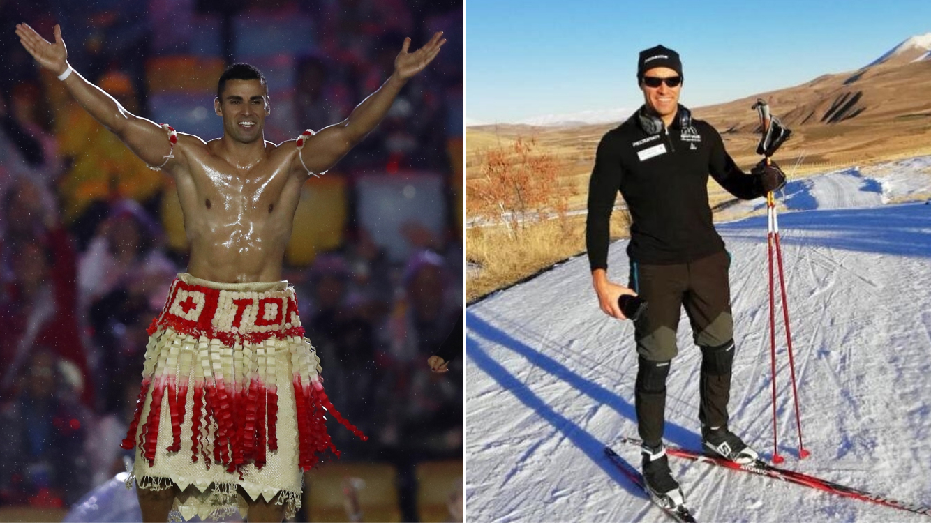 Pita Taufatofua: Tonga flag-bearer qualifying for Winter Olympics