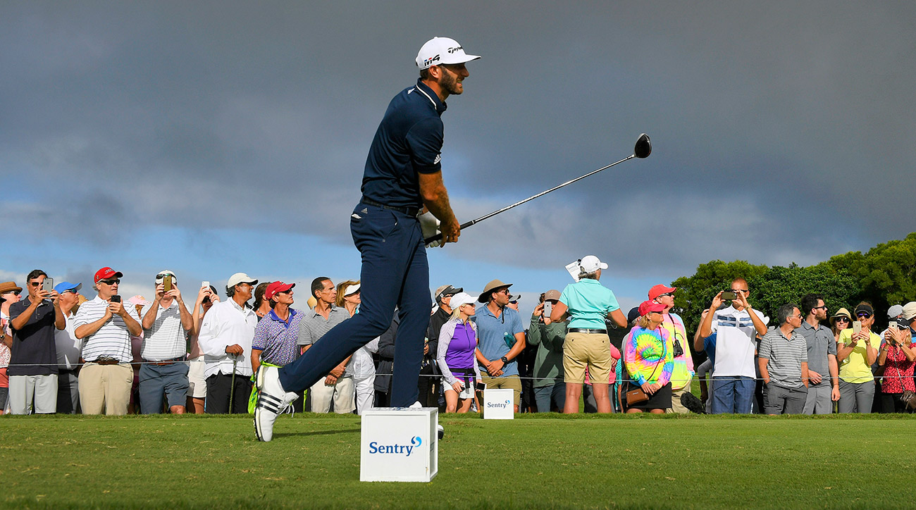 Dustin Johnson dominated the field to win for the 17th time on the PGA Tour.