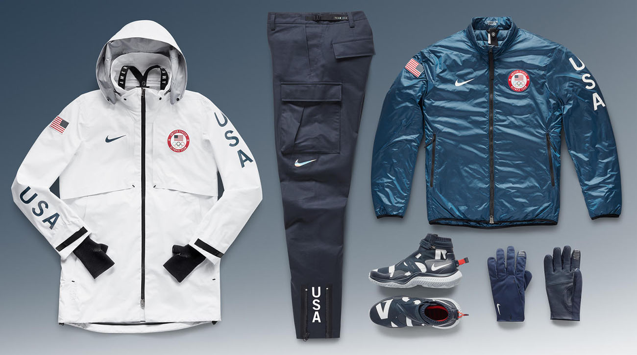 new concept 20a0a c5a30 2018 Winter Olympics: Nike releases Team USA's medal stand ...