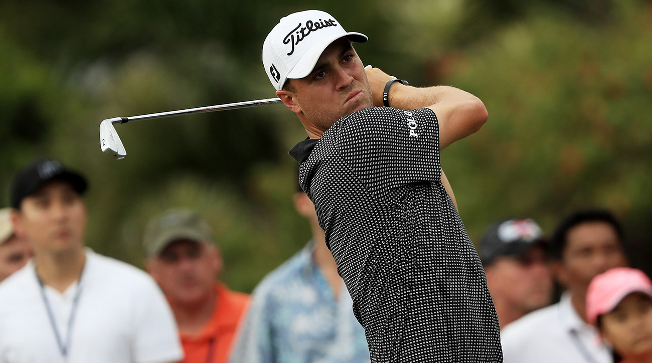 Justin Thomas opened the Sony with a 59 last year and never looked back.
