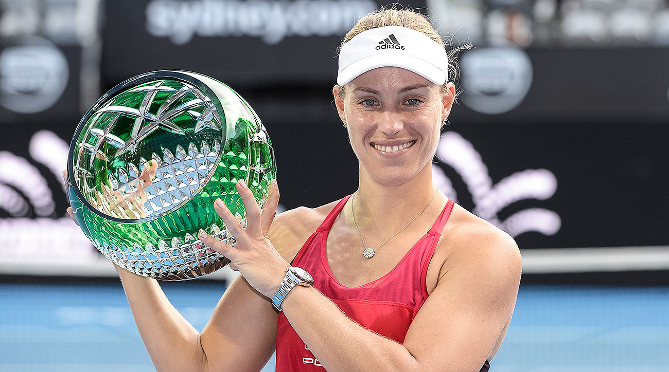 Kerber too strong for Barty to win Sydney International