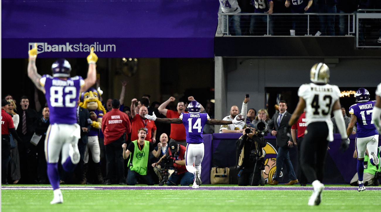 Minnesota Vikings' miracle playoff win recreated in Tecmo Super Bowl