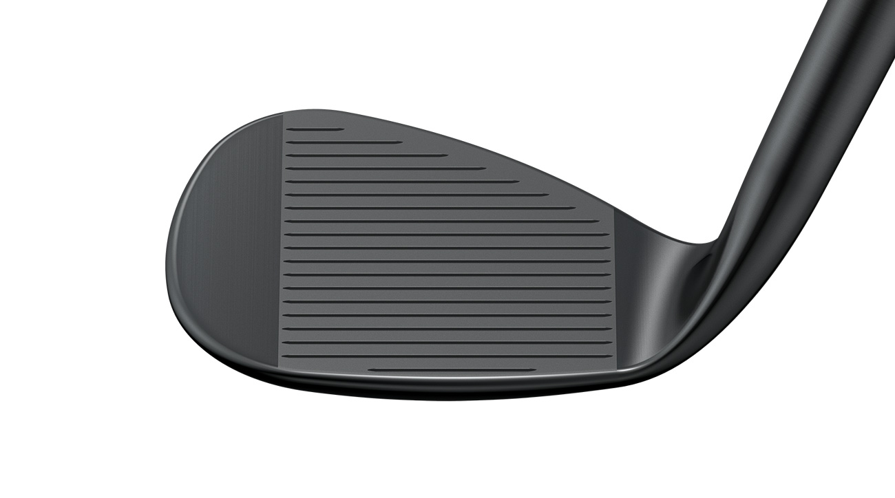 A look at the face of the new Ping Glide 2.0 Stealth wedge.