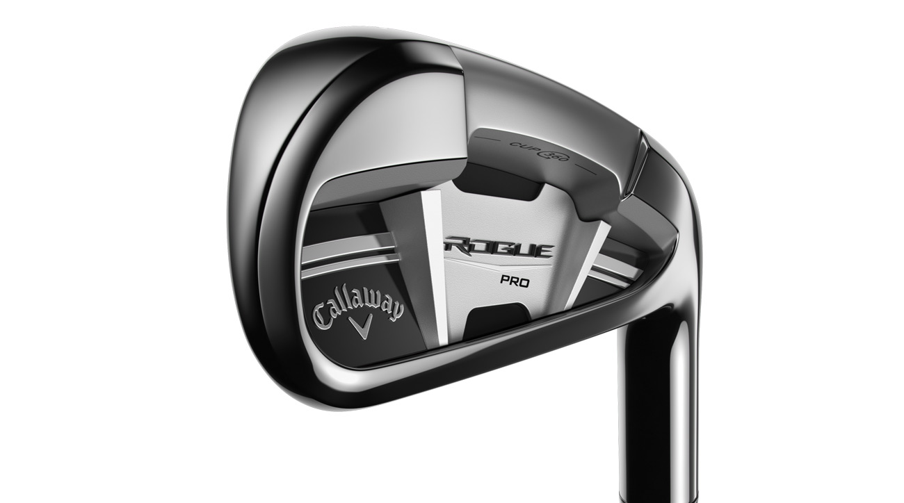 The new Callaway Rogue Pro iron.