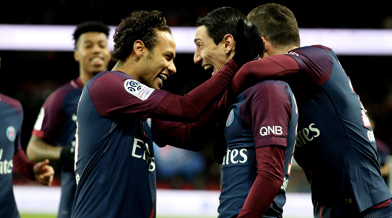 Neymar returns from injury to put four past Dijon
