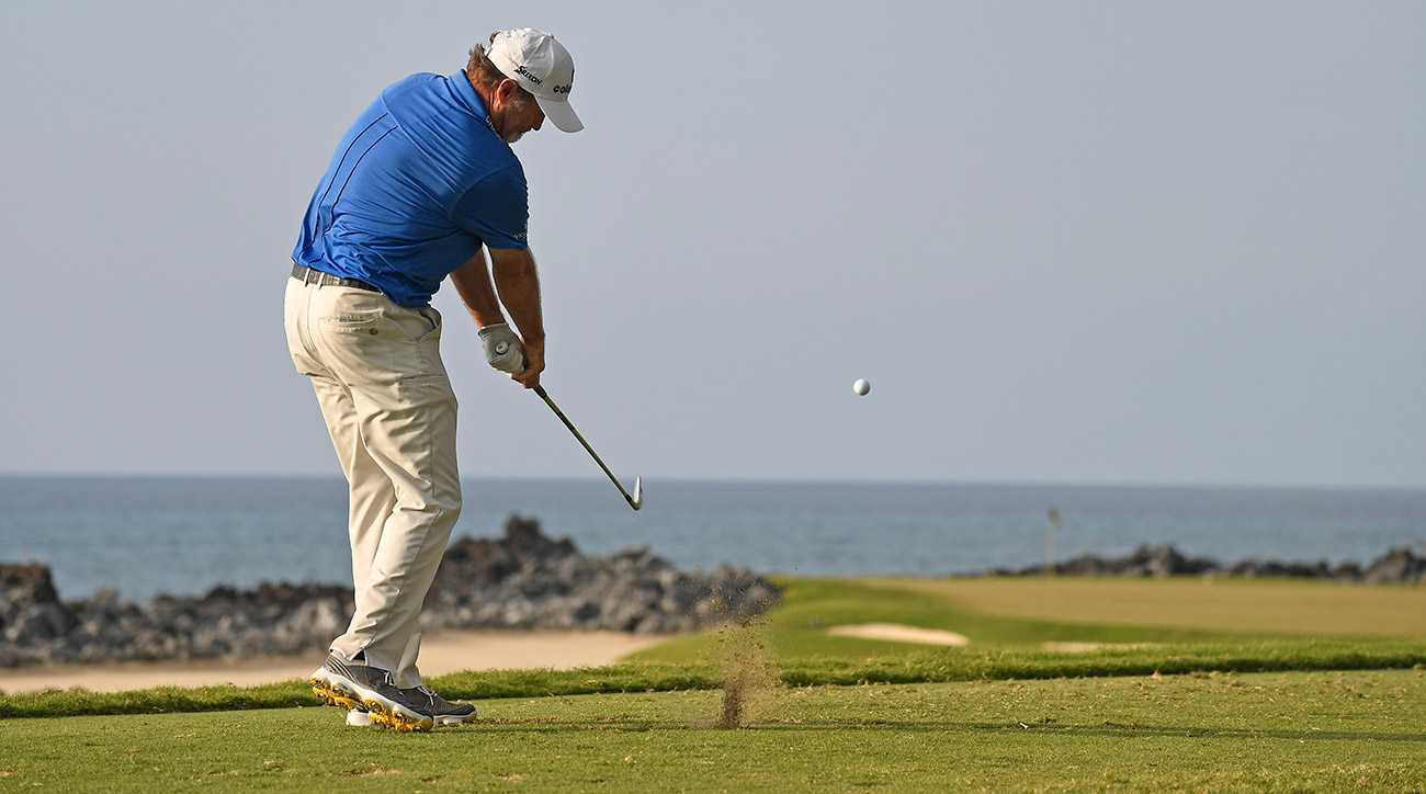 Jerry Kelly won the Mitsubishi Electric Championship at Hualalai Golf Club, his third victory on the PGA Tour Champions.