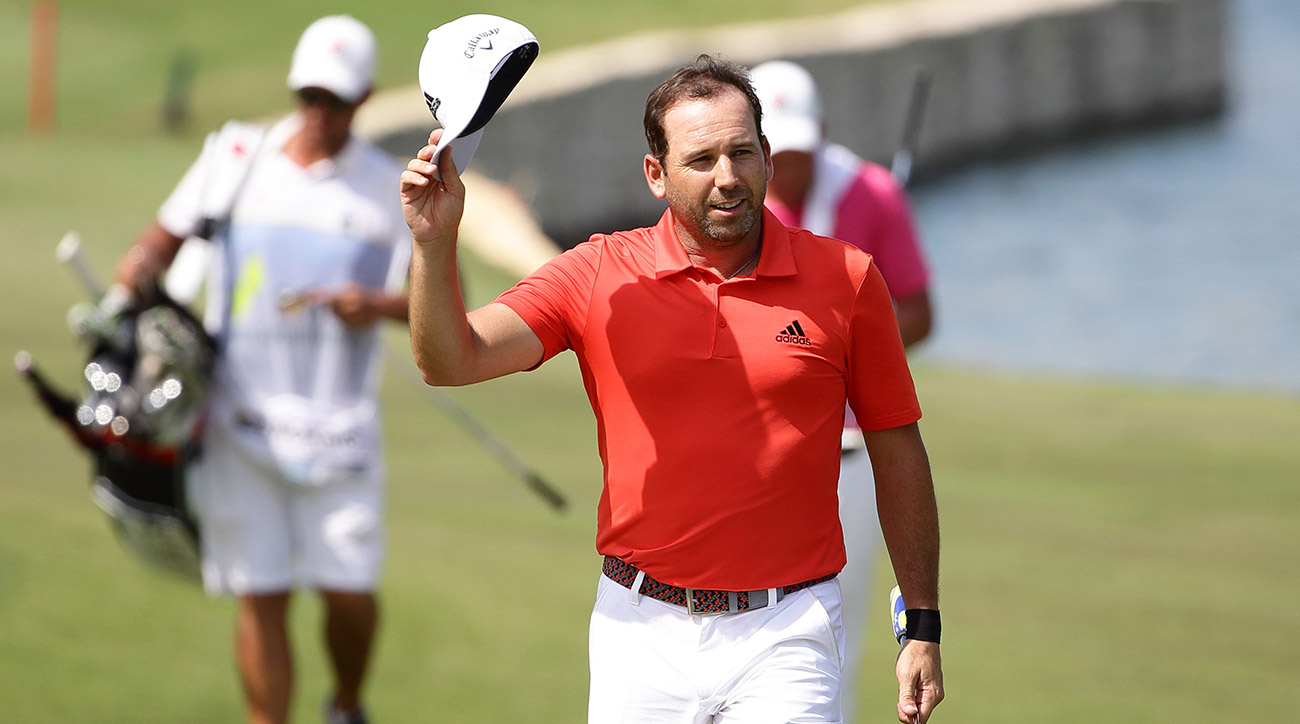 Sergio Garcia started 2018 on a strong note, winning in Singapore.