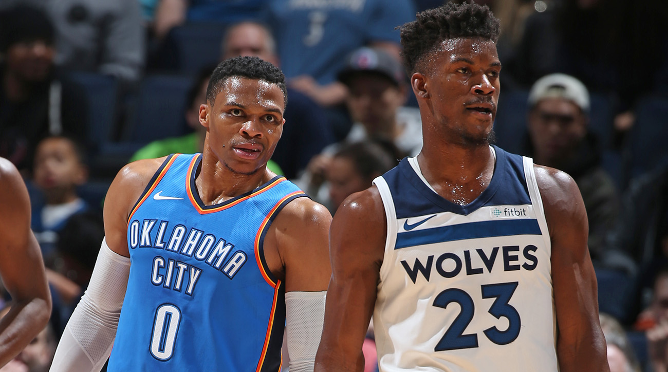 Russell Westbrook and Jimmy Butler
