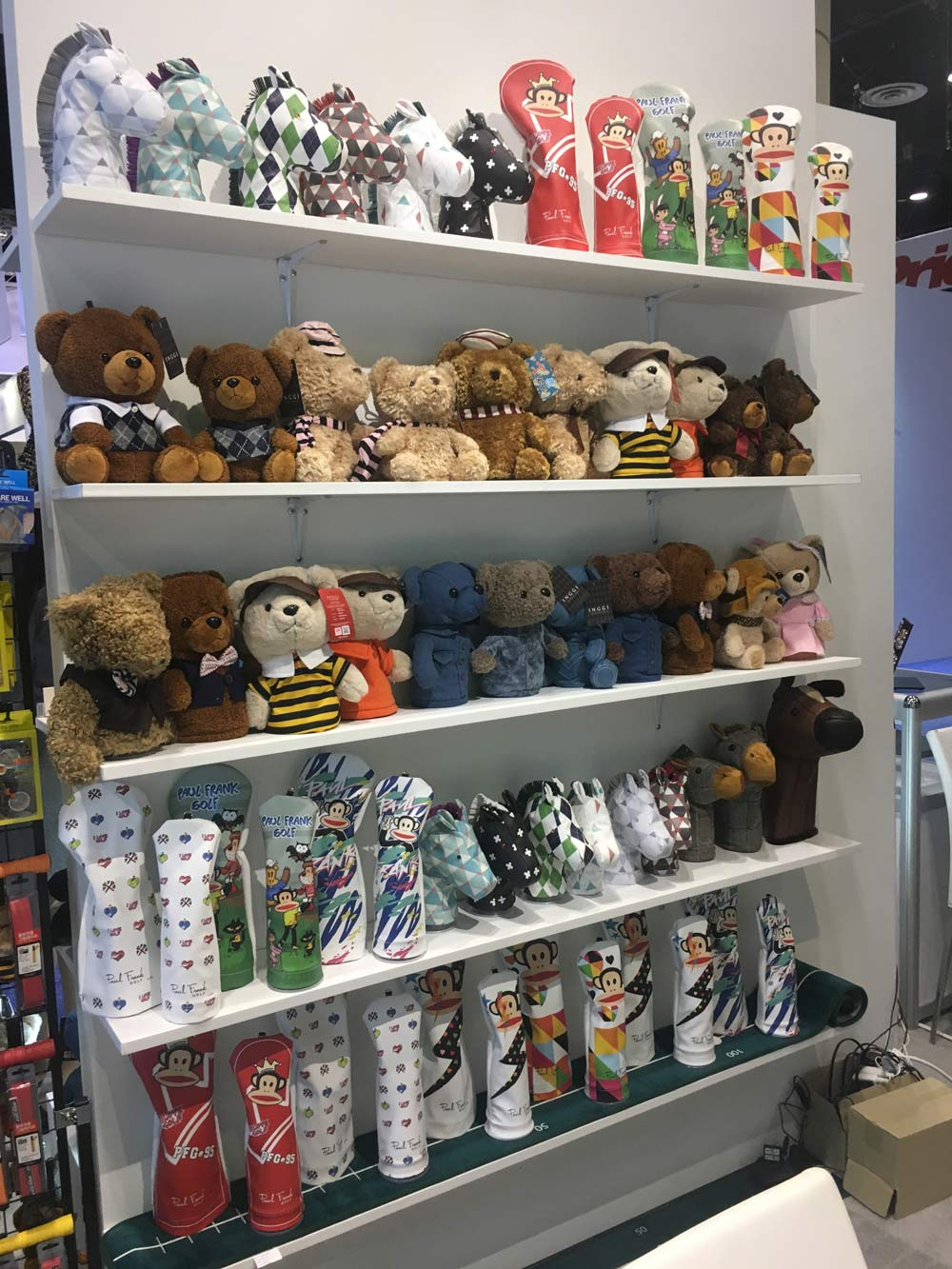 How cute are these teddy bear headcovers by Inggi? $30.