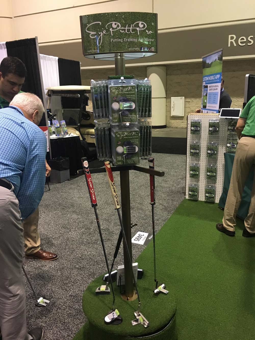 The Eye Putt Pro attaches to your putter to make sure you're properly aligned as you address the ball. $19.95; eyeputtpro.com