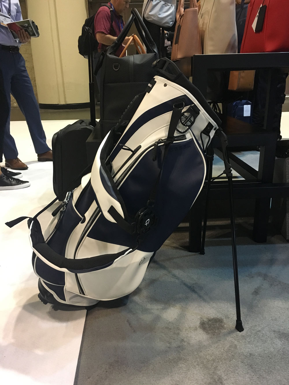 Vessel's Player Stand Bag is fully customizable with a click of your mouse on vesselbags.com. $290-$377.