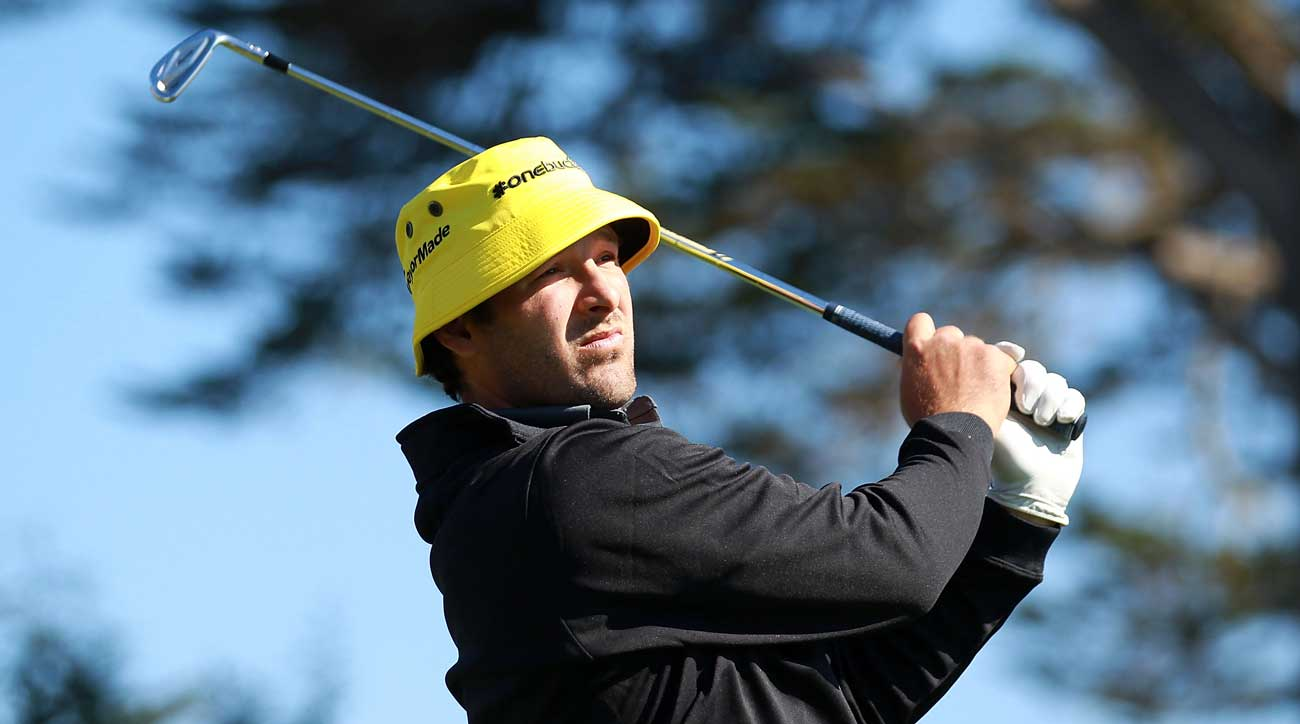 Romo has teed it up alongside the pros before in the AT&T Pebble Beach National Pro-Am.