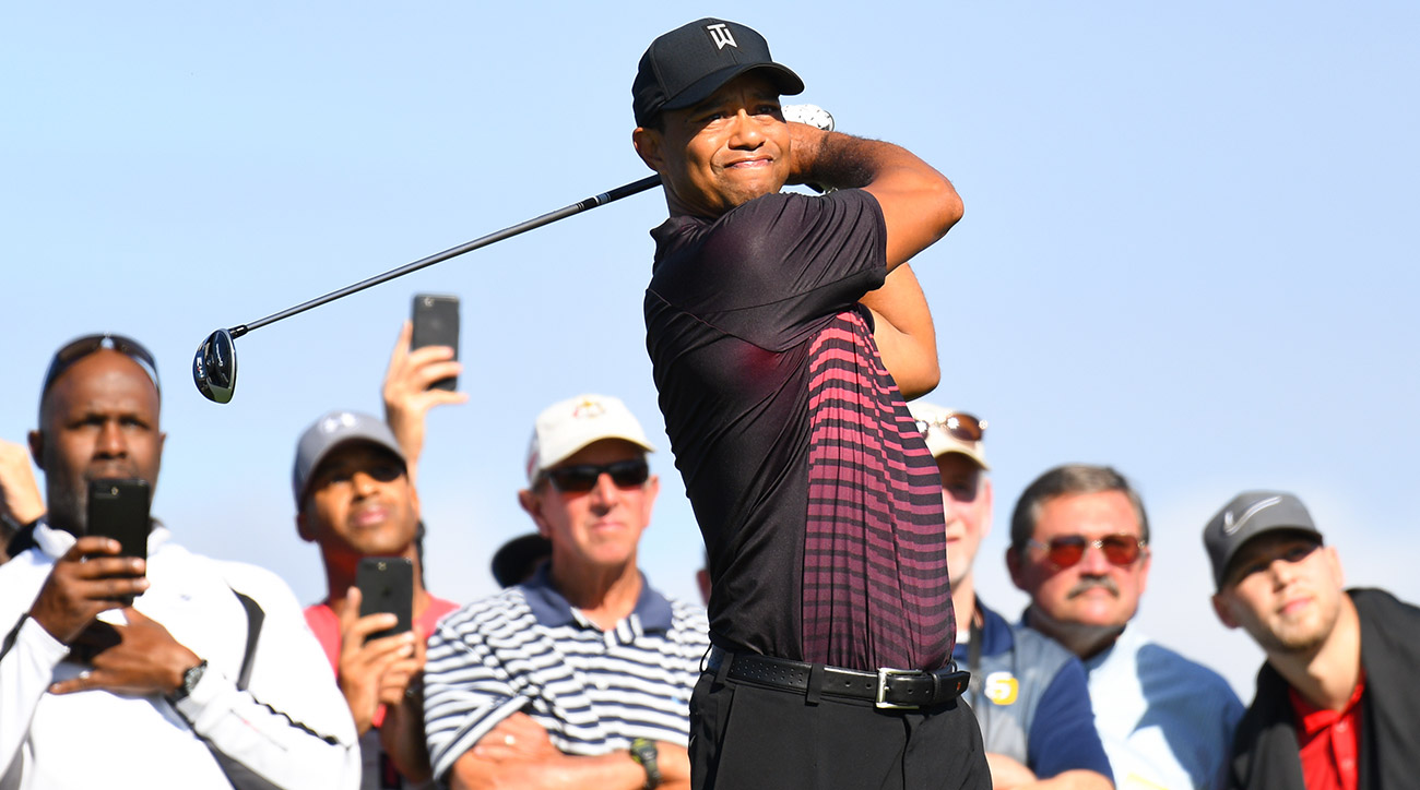 Tiger Woods made his return to the PGA Tour on Thursday and showed flashes of his old self.