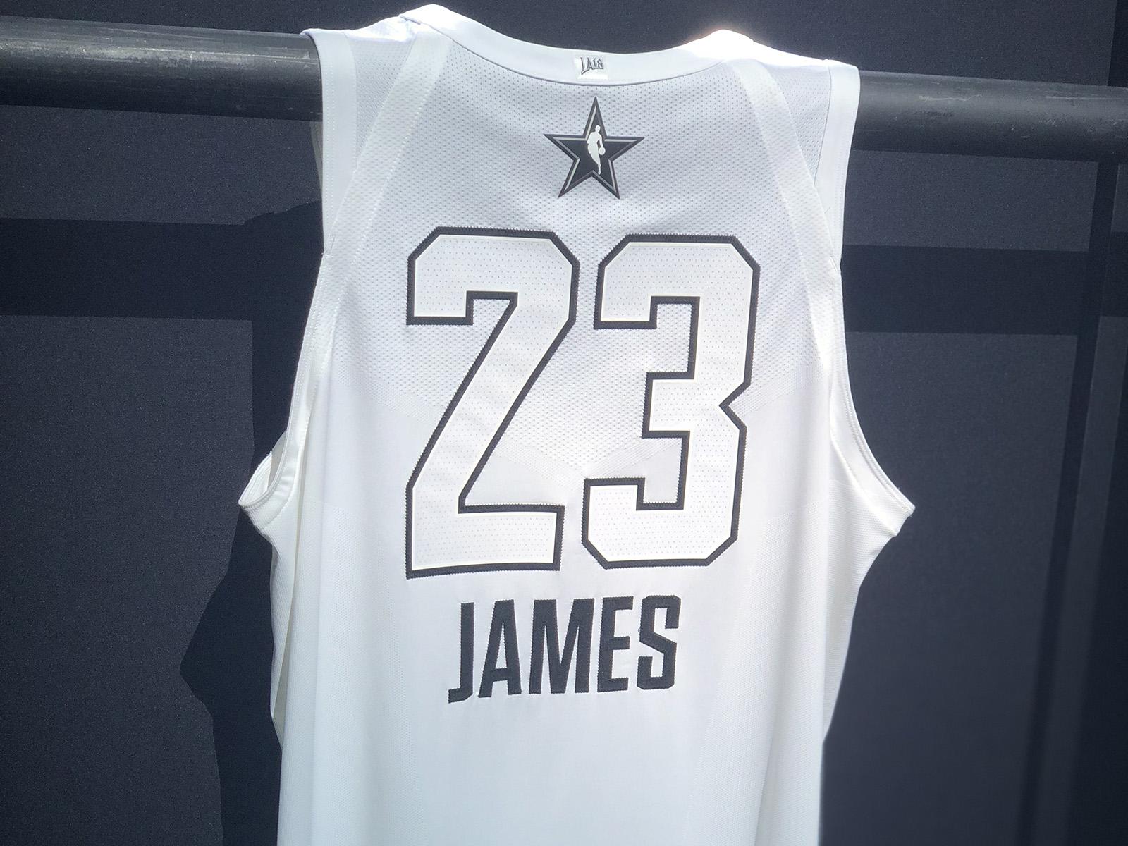 NBA All-Star Jerseys  Jordan Execs Defend Black-and-White Design ... 876e6fbcb