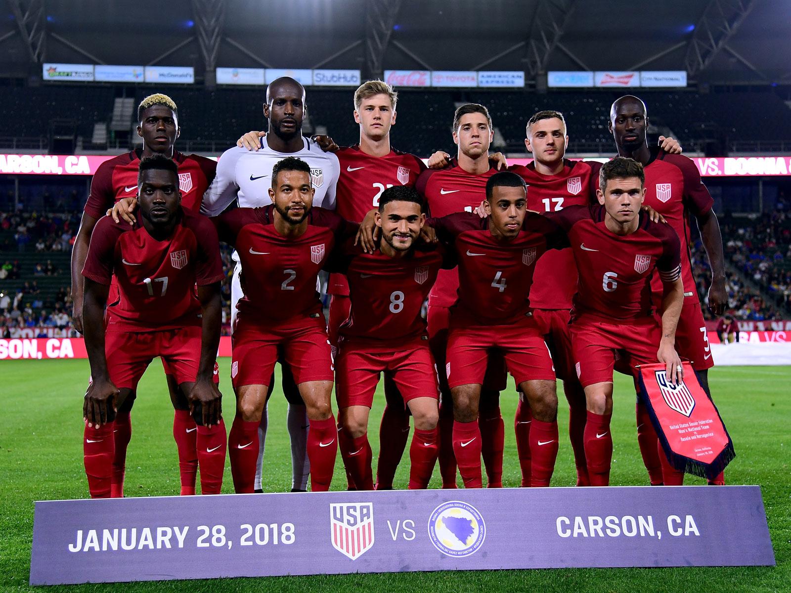 The USA played Bosnia to a scoreless draw
