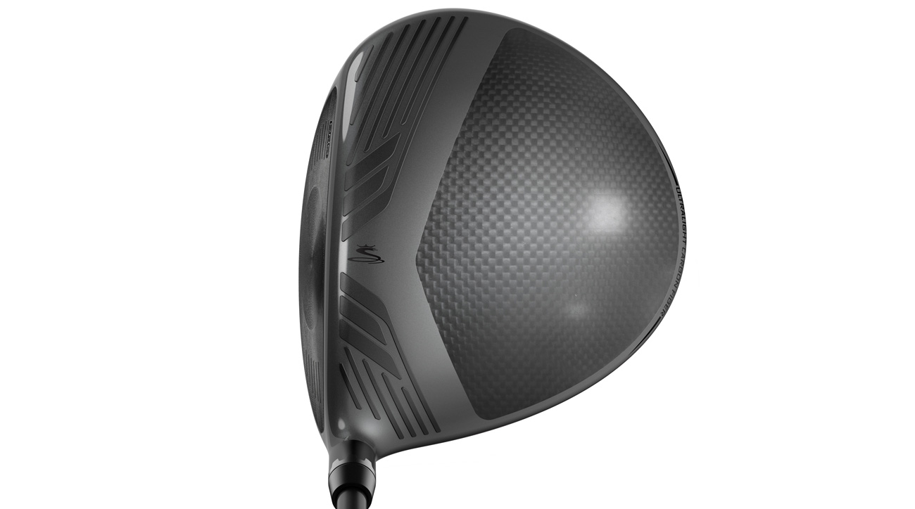 A look at the crown of the Cobra King F8 driver.