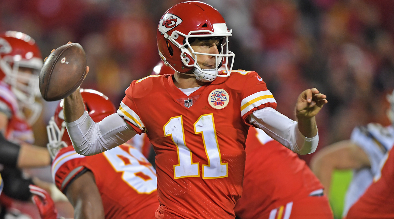 Redskins trade for Chiefs quarterback Alex Smith