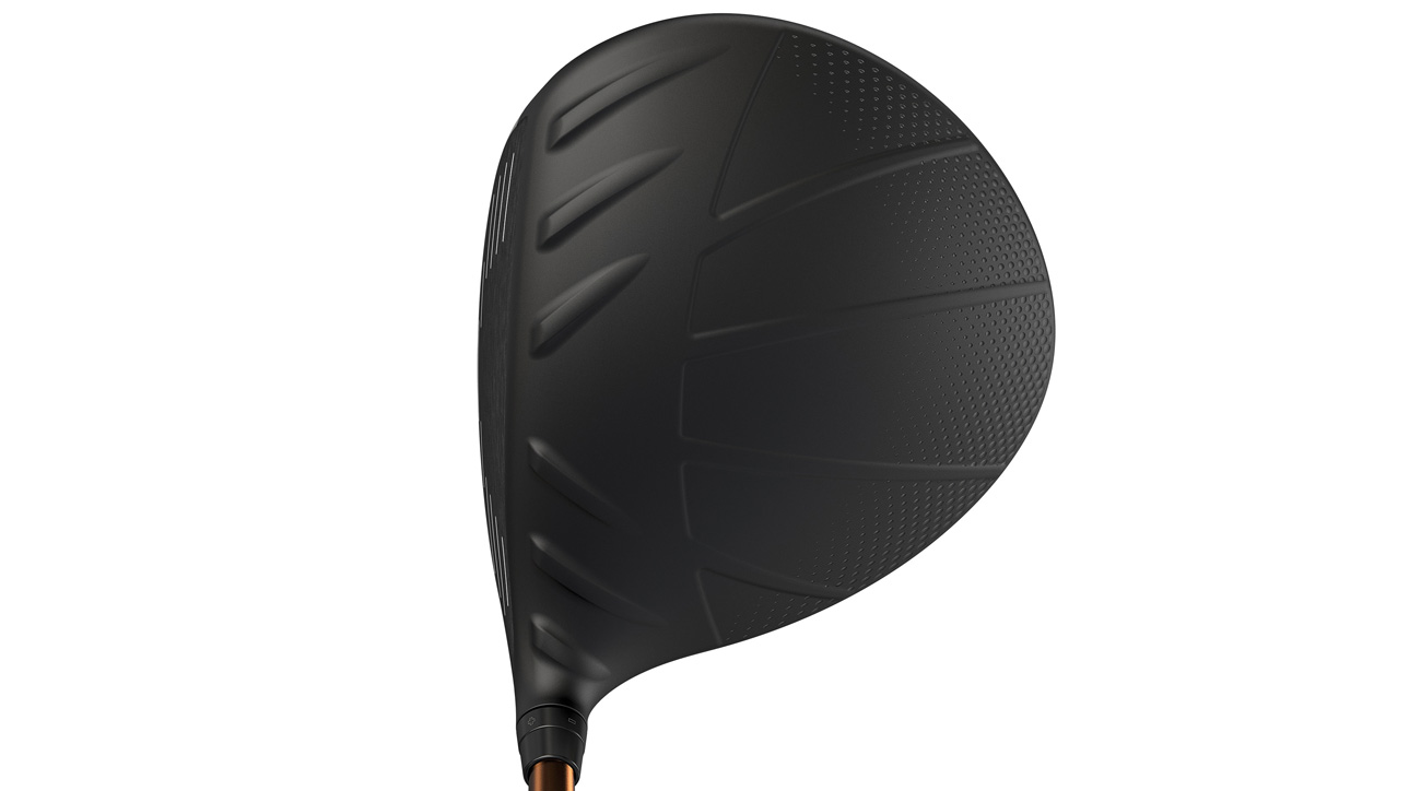 A look at the crown of the Ping G400 LST driver.