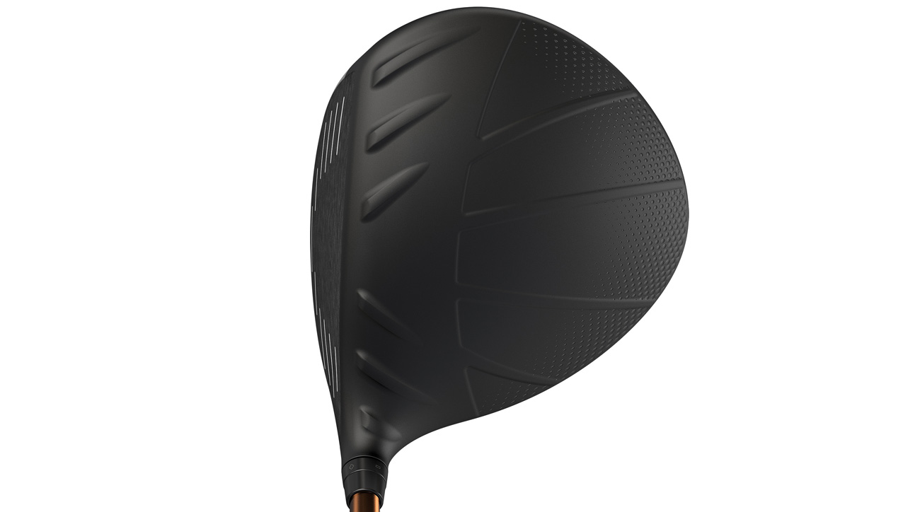 The crown of he Ping G400 SFT driver.