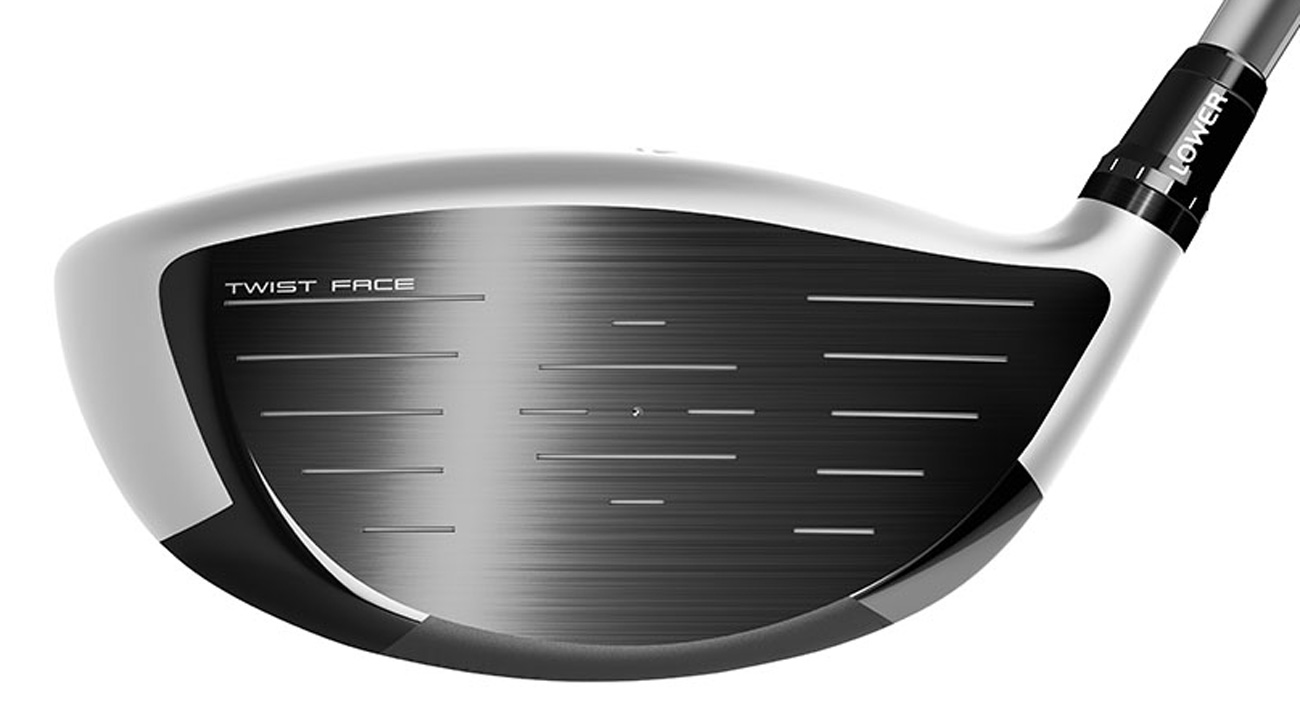 Twist Face technology featured in the TaylorMade M3 driver straightens shots struck in the low heel and high toe.