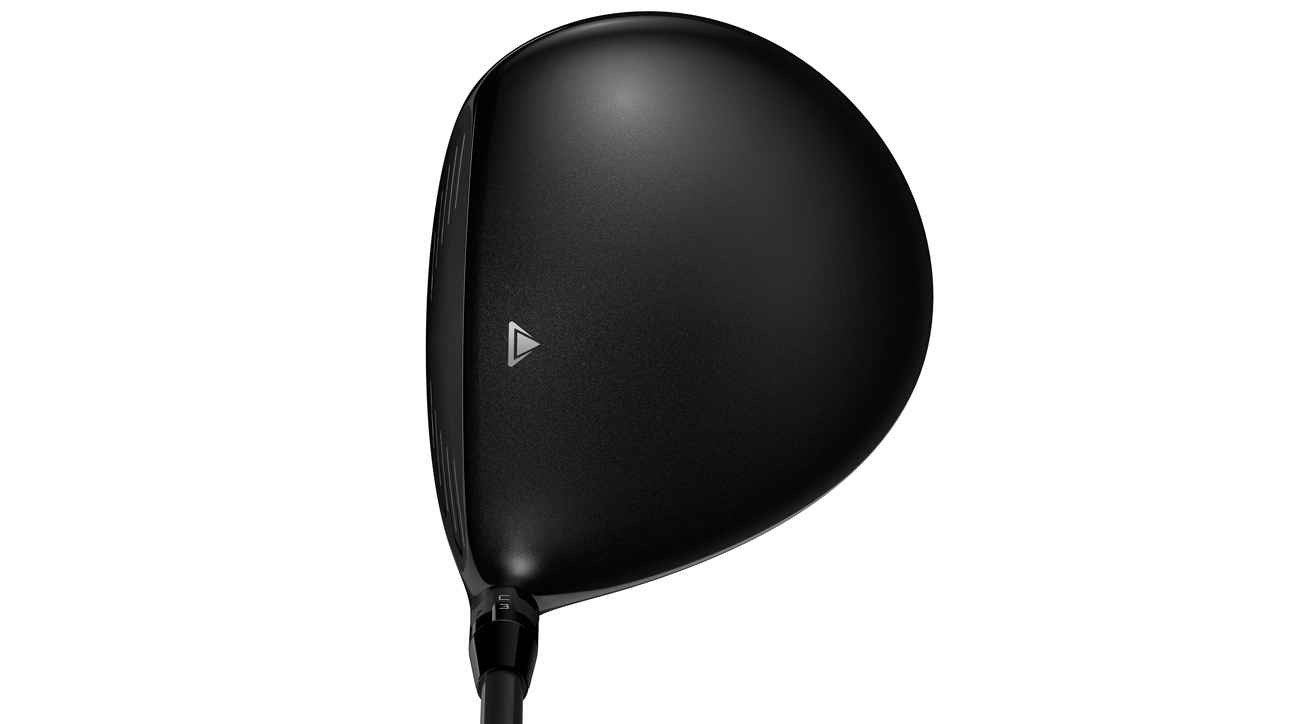 A look at the crown of the TItleist 917 D3 driver.