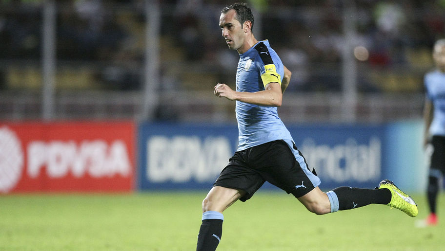 Diego Godin will wear Puma at the World Cup