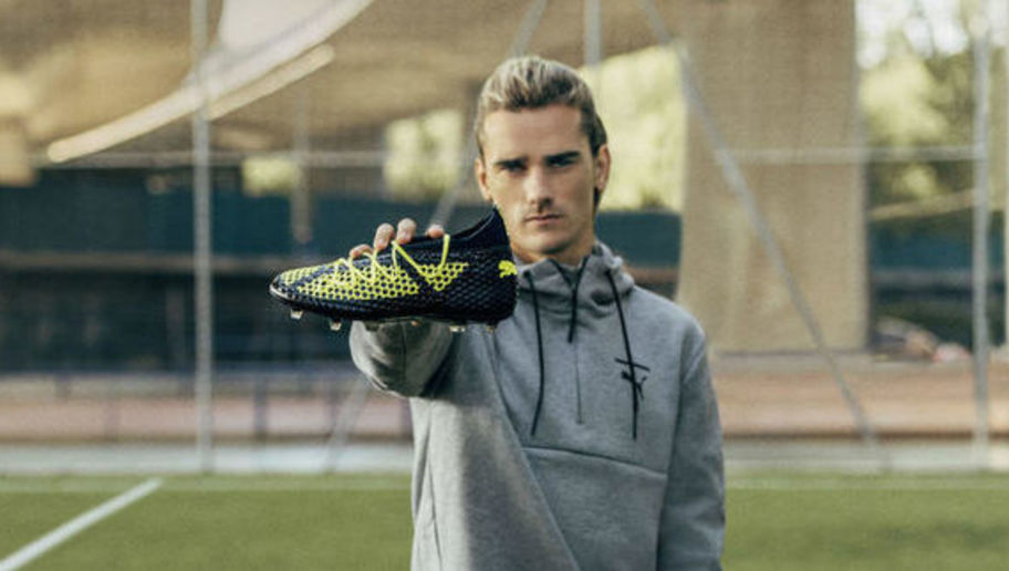 Antoine Griezmann will wear Puma at the World Cup