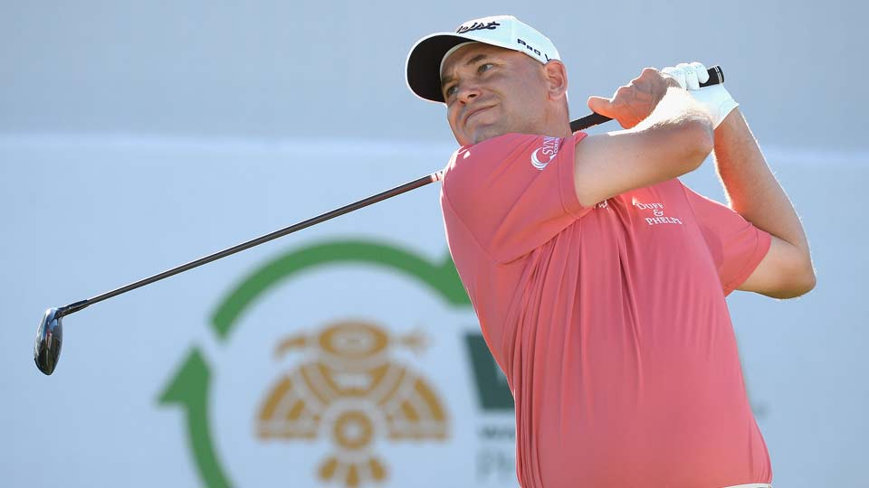 Bill Haas is seeking his seventh career PGA Tour win at the Waste Management Phoenix Open. He currently leads by two shots after the first round.