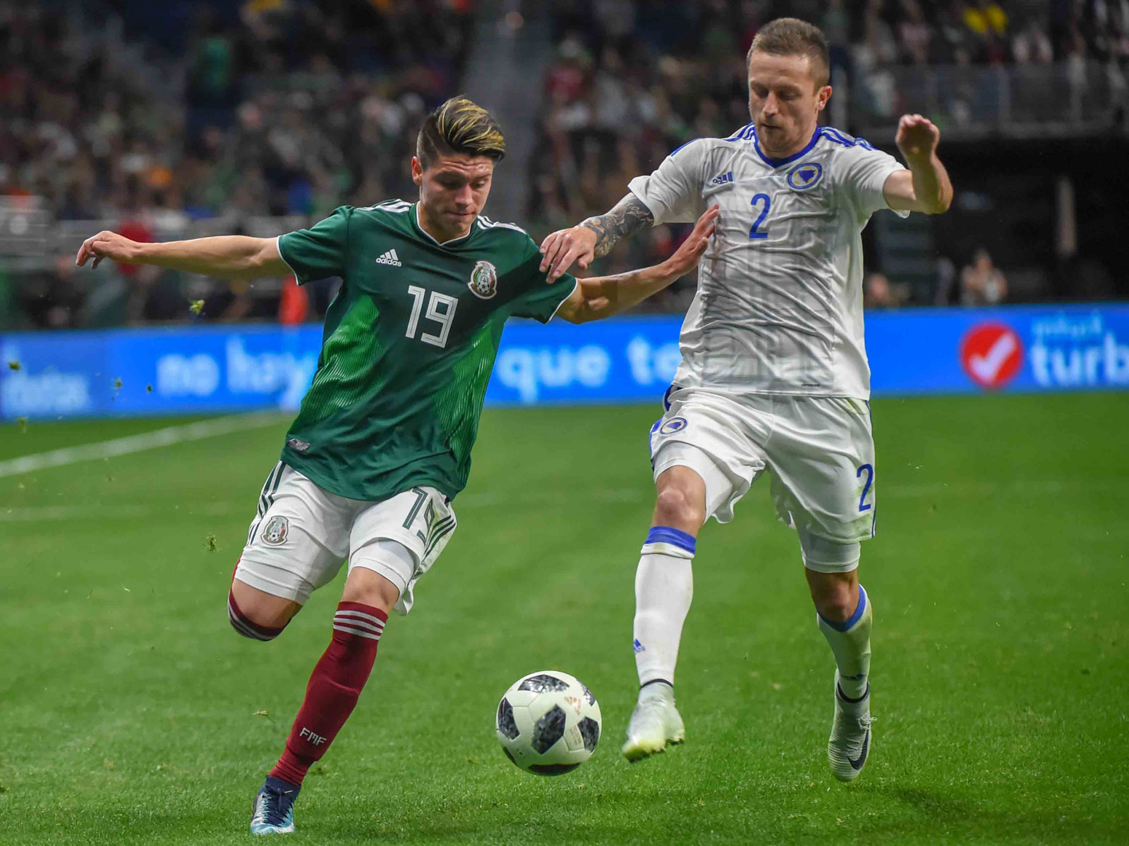 Jonathan Gonzalez makes his Mexico debut vs. Bosnia-Herzegovina