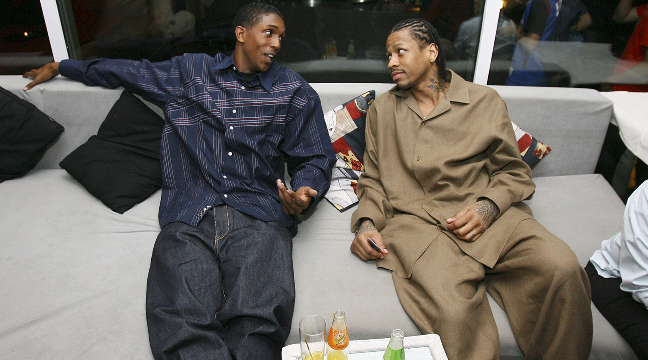 Lou Williams and Allen Iverson