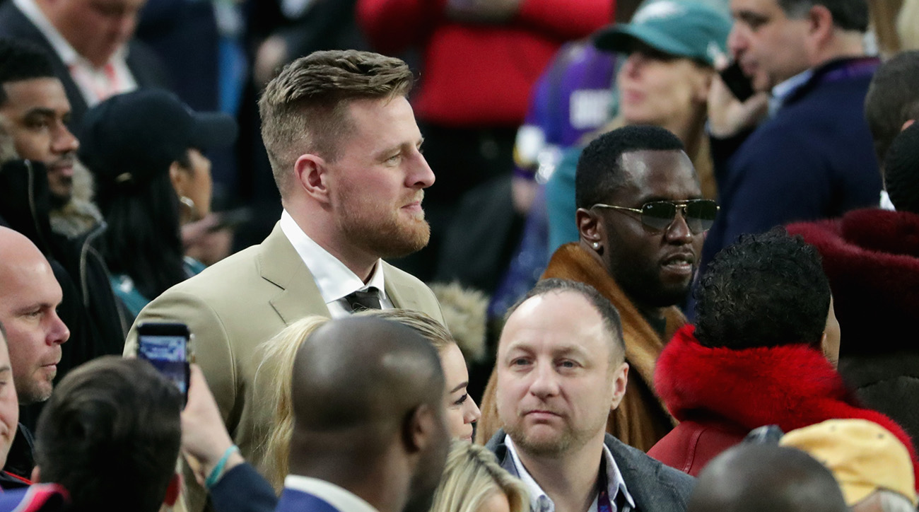 super bowl 52, super bowl celebrities, super bowl celebrities, jj watt, diddy