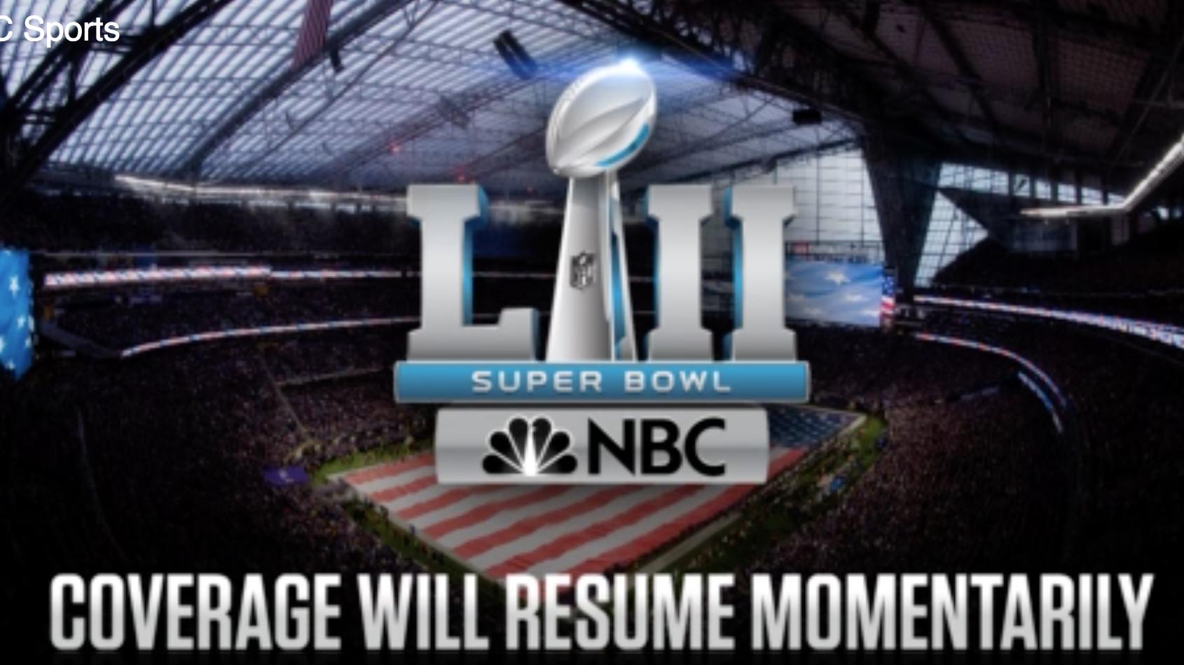 NBC Super Bowl stream has no commercials