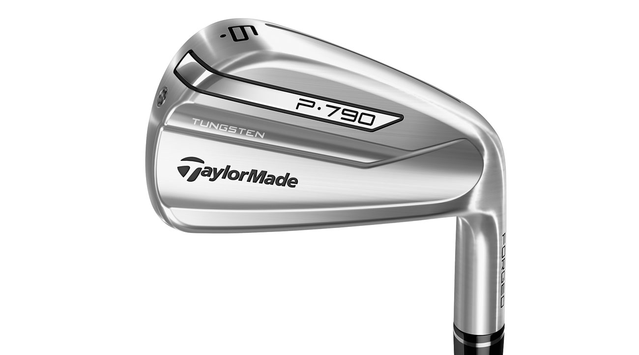 Internal SpeedFoam in the TaylorMade P 790 irons optimizes sound and feel and supports the clubface.