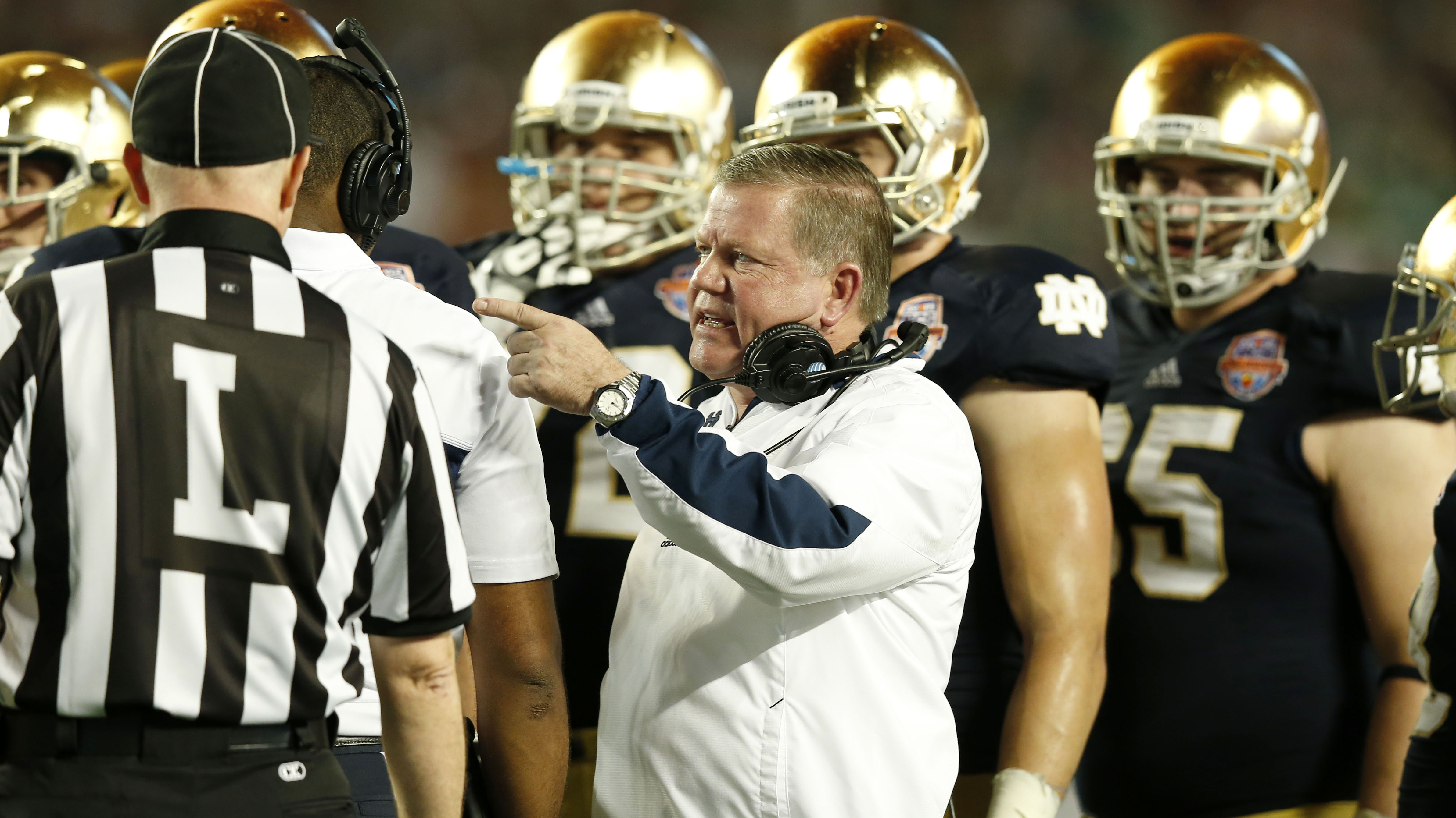 Notre dame football wins vacated by ncaa due to violations si com