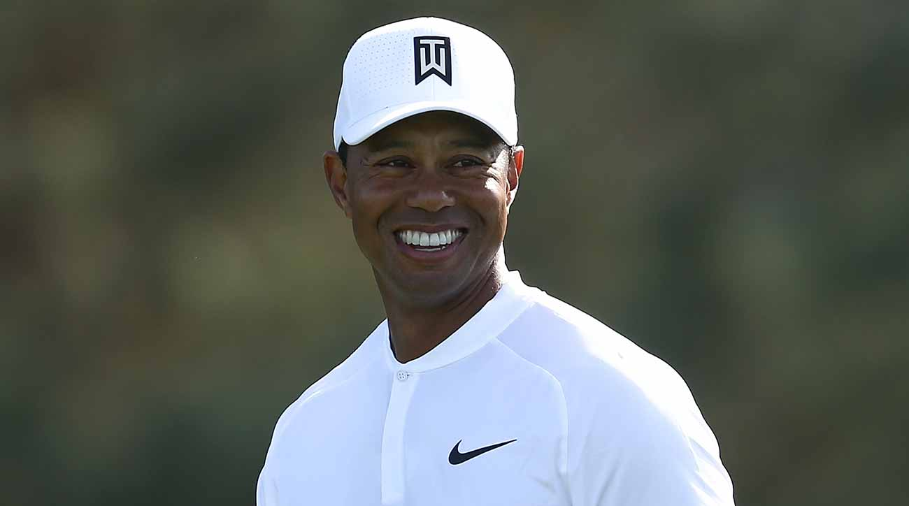 Tiger Woods showed promising signs in his play at Torrey Pines.
