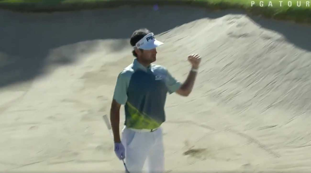 Bubba in trouble in the bunker? Not for long.