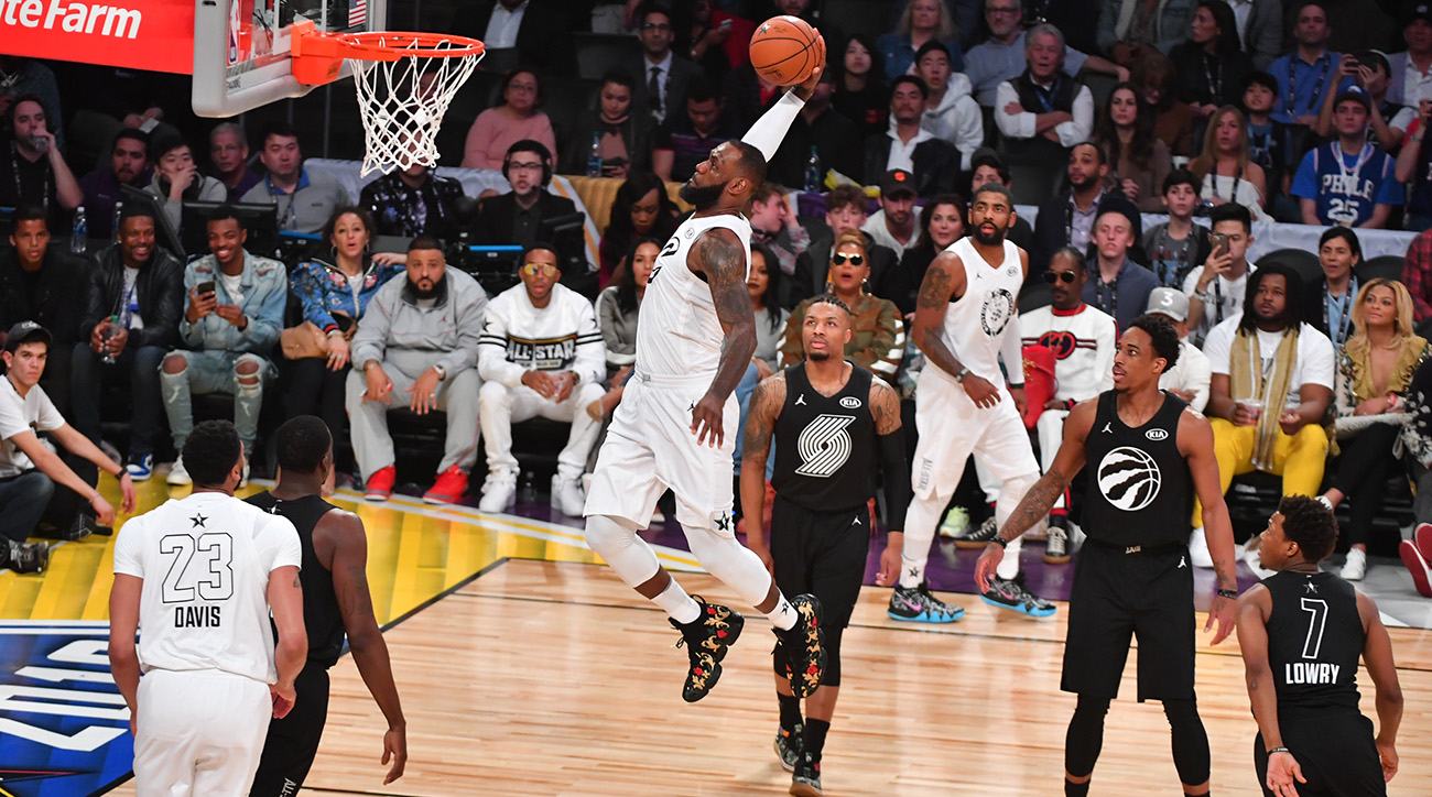 nba allstar game lebron reigns new format works in