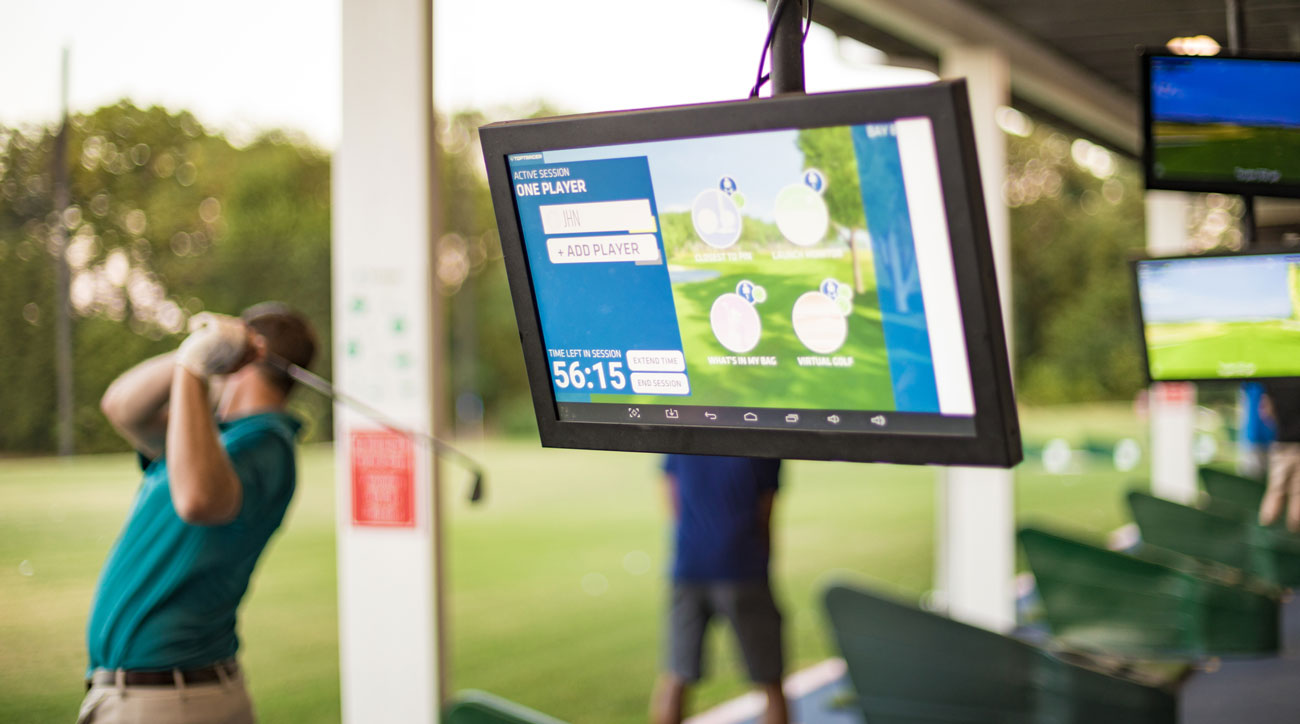 Along with tracking and displaying shot-shape, Toptracer Range captures a host of data, including distance, ball speed and launch angle.