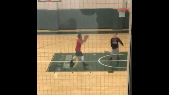 Watch: Derrick Rose Shooting In An Empty Gym at Cleveland State Feels Like a New Low