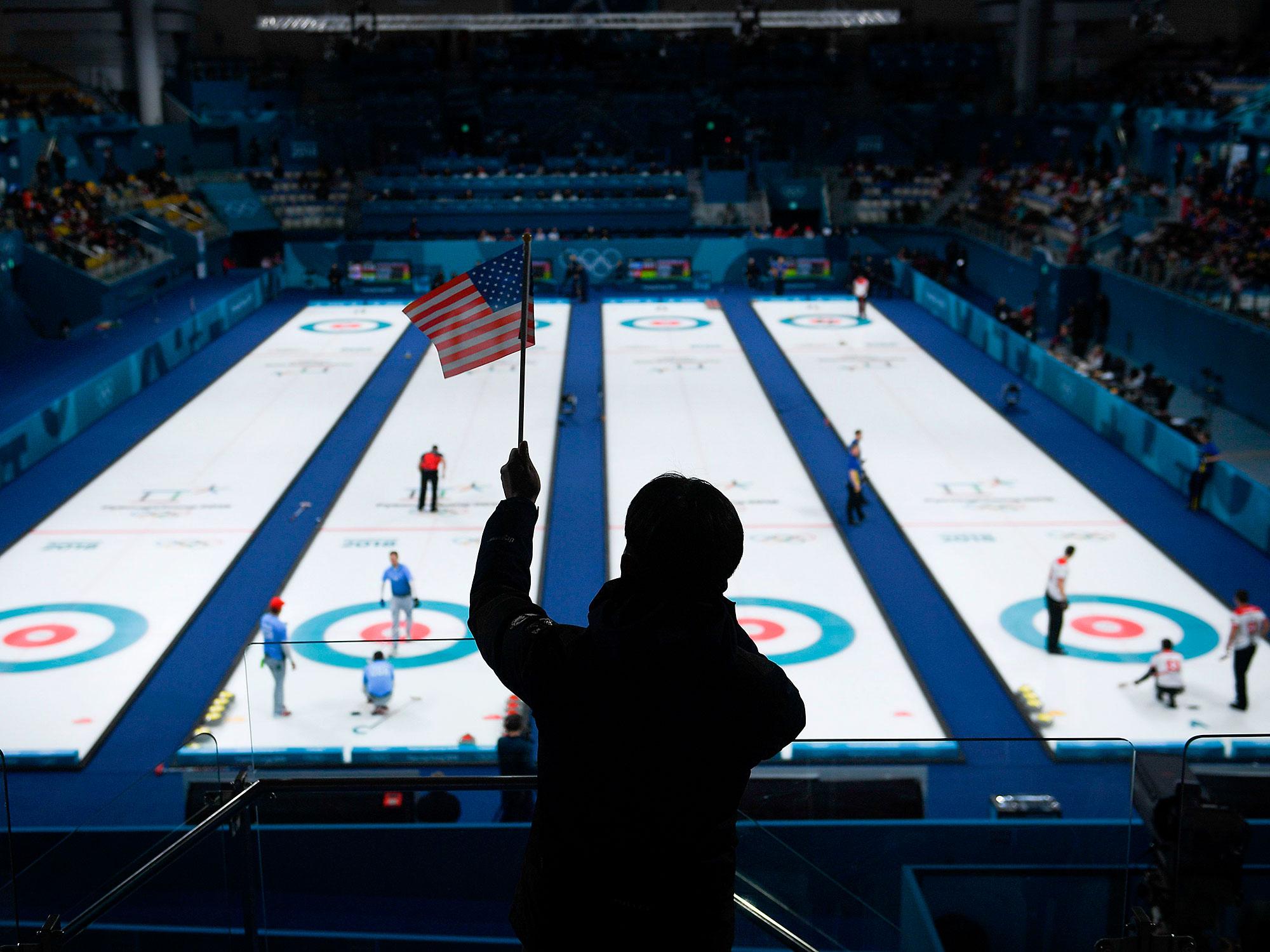 USA curling at the 2018 PyeongChang Olympic Games