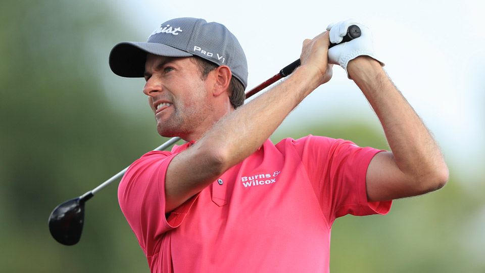 Simpson, Noren share PGA lead