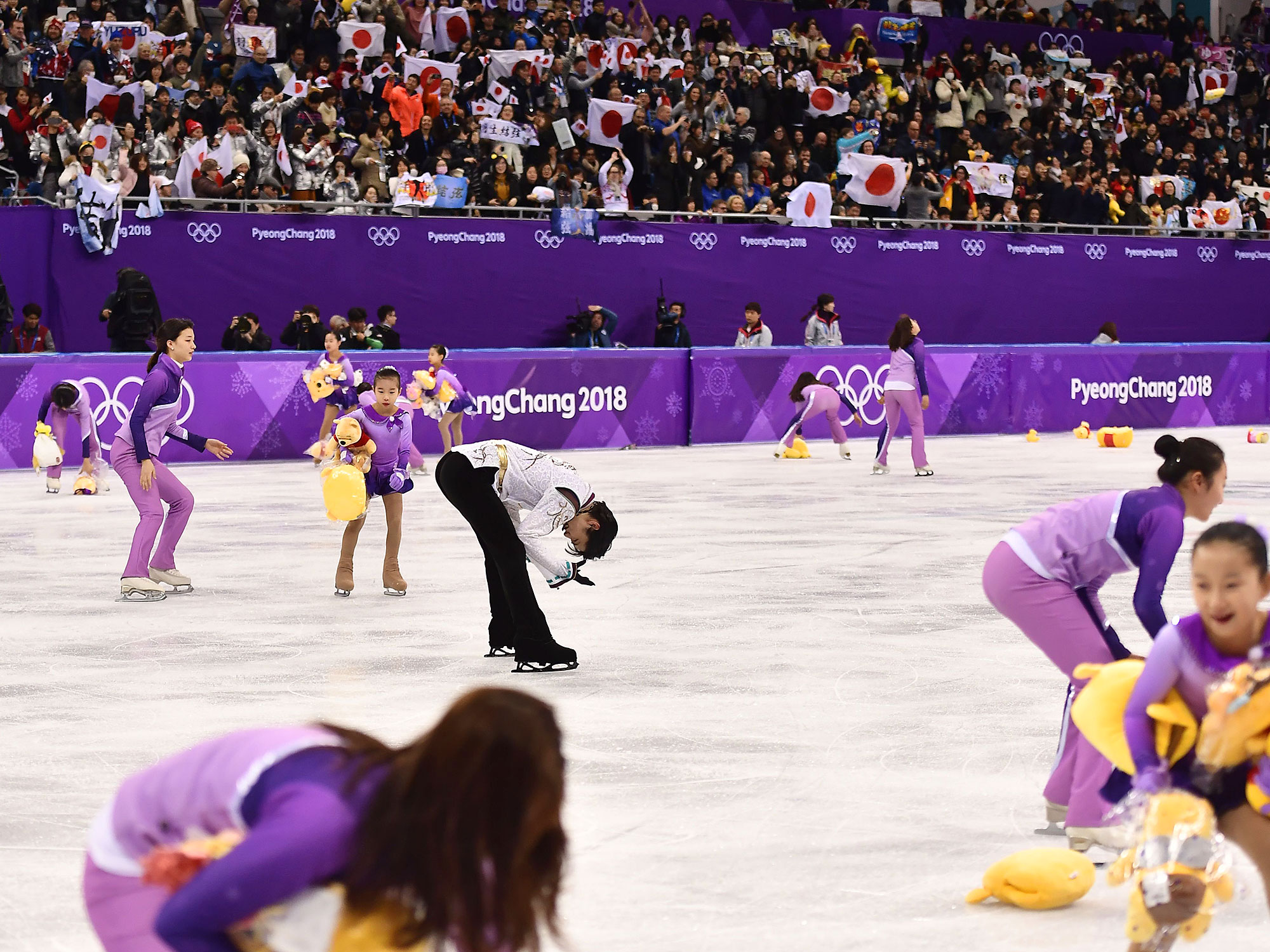 Yuzuru Hanyu Wins Gold 2018 Winter Olympics