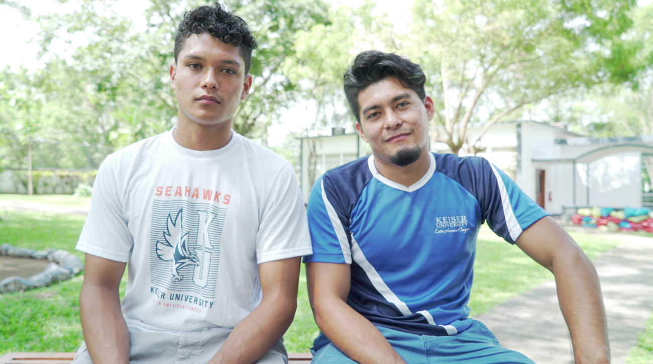 Brothers Lizandro and Diego Claros Saravia were deported to El Salvador