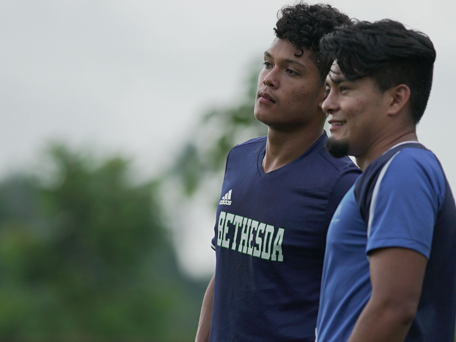 Lizandro and Diego Claros Saravia played for the Bethesda Soccer Club